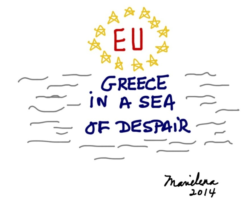 GREECE IN A SEA OF DESPAIR: The truth about Socialism and the EU