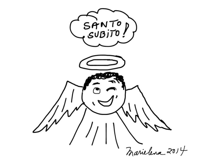 SANTO SUBITO! Here's your chance to be a saint…