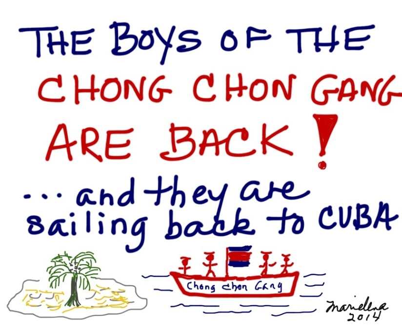 The Boys of the Chong Chon Gang are back!