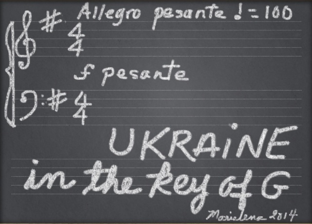 Ukraine in the Key of G