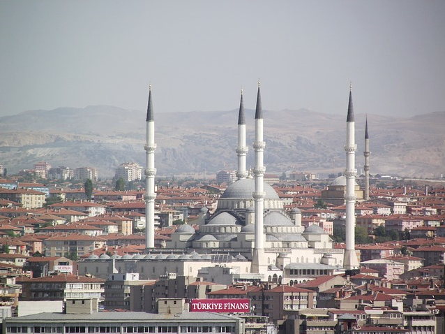 Ankara's Kocatepe Mosque