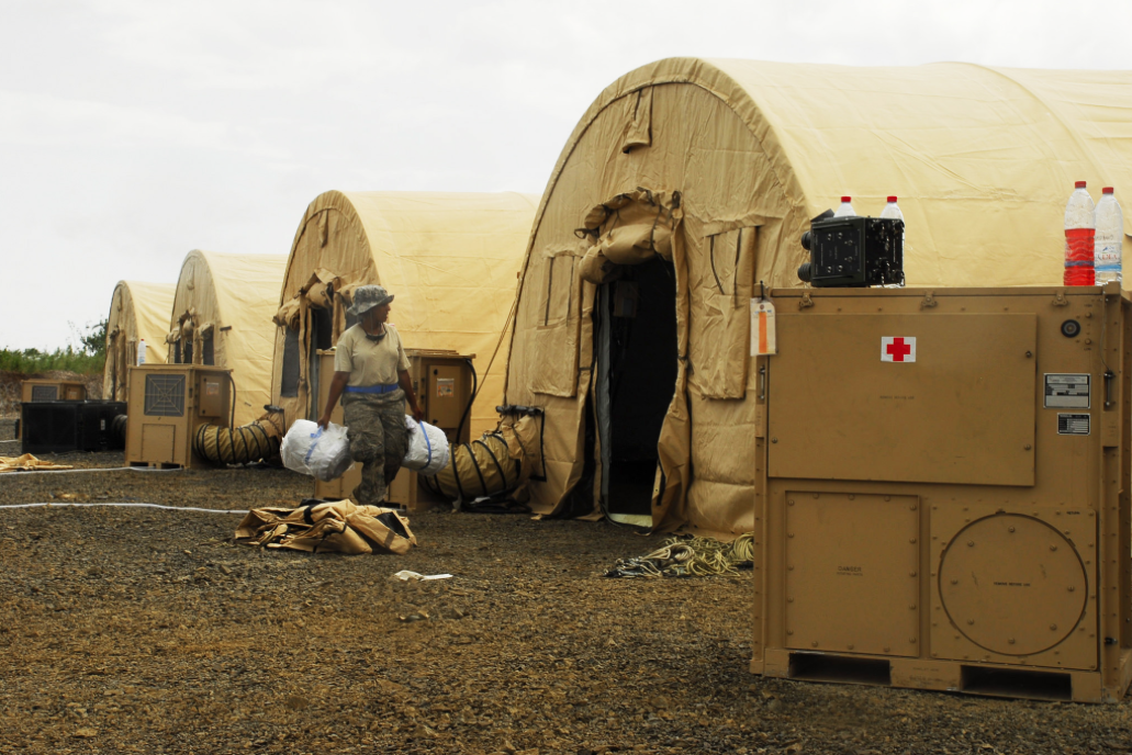How the Pentagon deals with Ebola