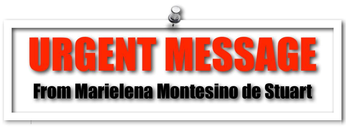 Urgent message for my readers during this presidential campaign season