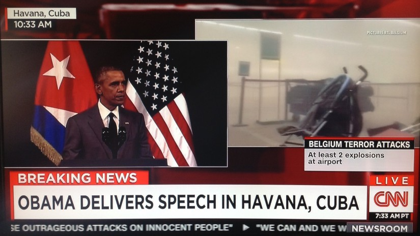 FOR THE RECORD: Barack Obama's Speech before Communist Stone-Faced Vultures in Havana, Cuba– on March 22, 2016