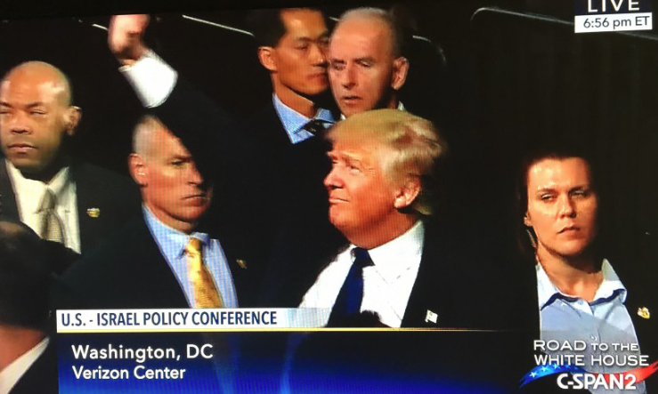 FOR THE RECORD: Donald J. Trump addresses AIPAC on March 21, 2016