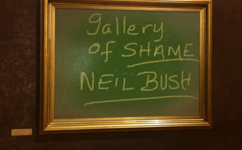"""GALLERY OF SHAME: Neil Bush insults American voters, calls support for Trump a """"coronation."""" SHAME on NeilBush!"""