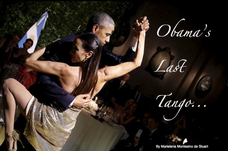 OBAMA'S LAST TANGO - By Marielena Montesino de Stuart