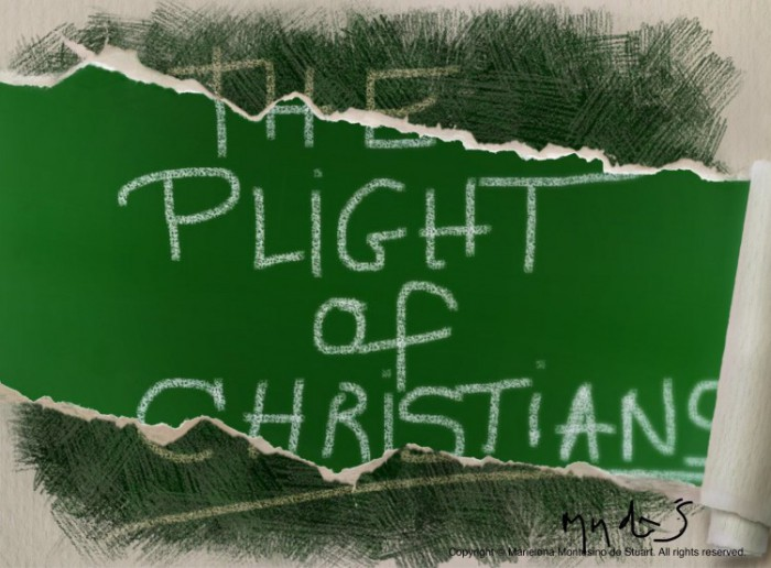 The Plight of Christians - Copyright © Marielena Montesino de Stuart. All rights reserved