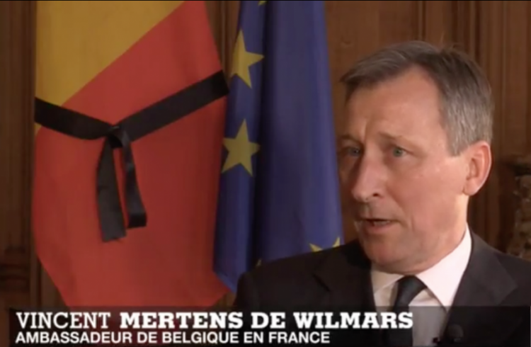 Vincent Mertens de Wilmars - Belgian Ambassador to France - By Marielena Montesino de Stuart - 2016-03-27 at 11.47.58 AM