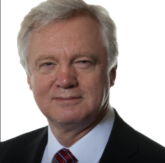 David Davis - UK's Secretary of State for Exiting the European Union