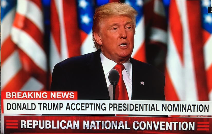 2016 Republican National Convention In Cleveland Ohio Someone Has