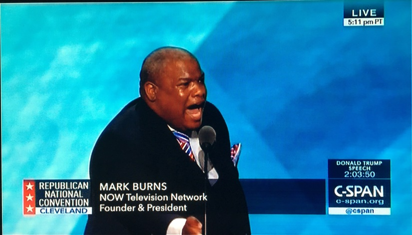 REPUBLICAN CONVENTION: Heart-pounding, foot-stomping speech by Pastor MarkBurns