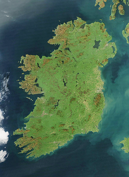 Ireland (photo by NASA)