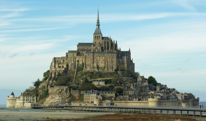 Mont Saint Michel Abbey, Normandy