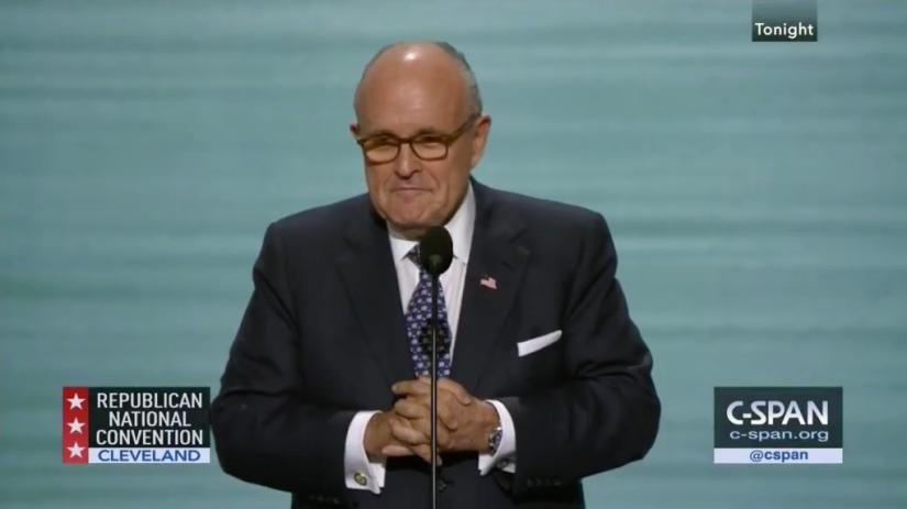 REPUBLICAN CONVENTION: Rudy Giuliani's heartfelt and timelyspeech