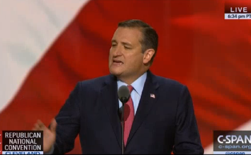 Ted Cruz Booed off the Stage at the 2016 Republican National Convention