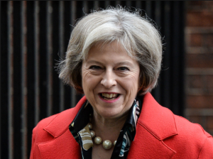 UK's Prime Minister Theresa May