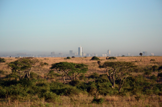 View of Nairobi, Kenya