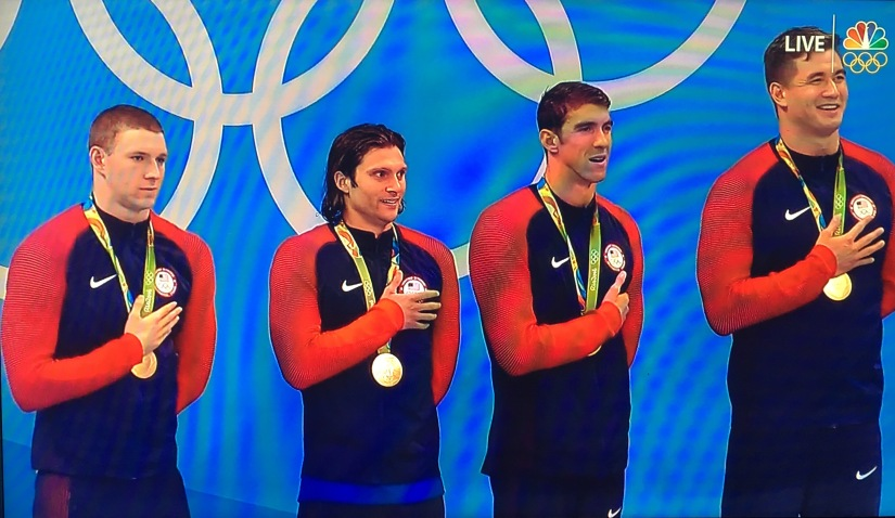 RIO 2016 Olympics: Unstoppable… USA Swim Team