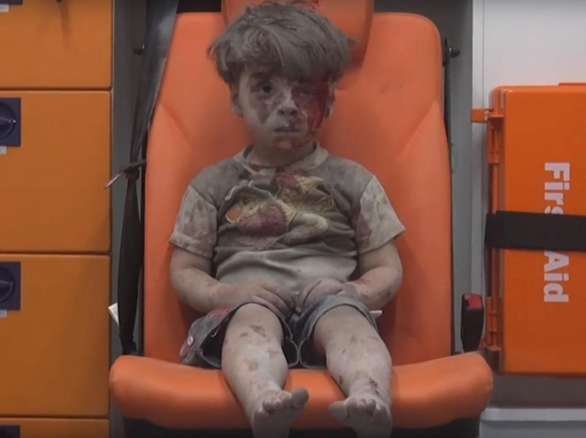 ALEPPO TRAGEDY: Innocent little victims of war in Syria are still waiting for Obama's FAKE red line