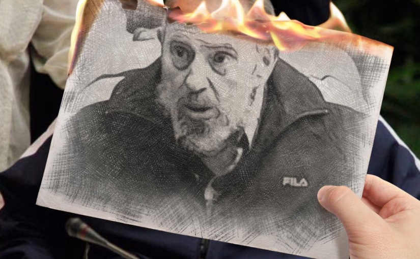 Fidel Castro burns in Hell, while mainstream media payshomage