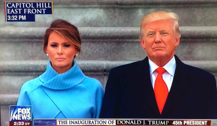 TRUMP'S VISION OF AMERICA PROTECTED BY GOD:  The Inaugural Address