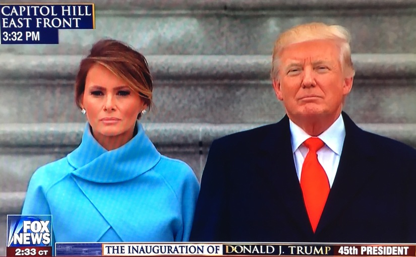 TRUMP'S VISION OF AMERICA PROTECTED BY GOD: The InauguralAddress