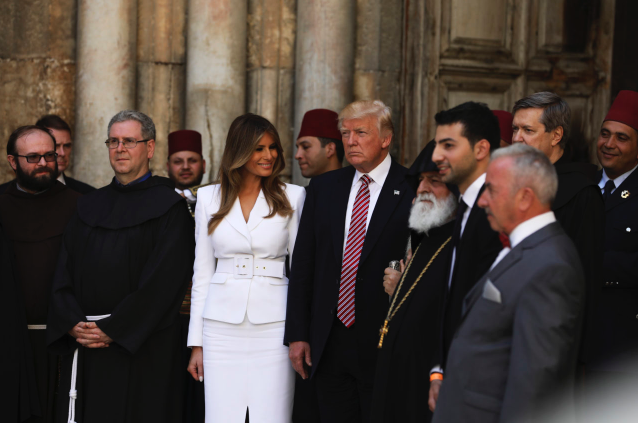 JERUSALEM: President Trump and the First Family visited Church of the Holy Sepulchre, then walked to Western Wall