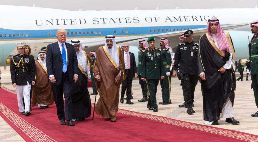 TRUMP OF ARABIA: Beware of Arabs BrandishingSwords!