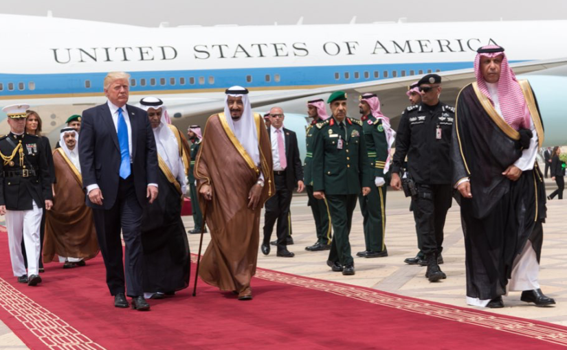 TRUMP OF ARABIA: Beware of Arabs Brandishing Swords!