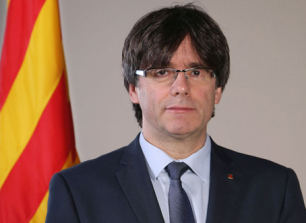 CARLES PUIGDEMONT, PRESIDENT OF THE AUTONOMOUS (REGIONAL) GOVERNMENT OF CATALONIA