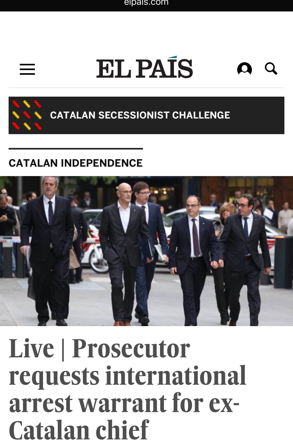 """National and international"" search for arrest of fugitive Catalan ""leader"" Puigdemont wanted in Spain. HINT, HINT Catalan ex gov't LOVES Cuba!"